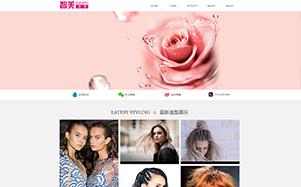 深智美时尚美容美发公司网站设计