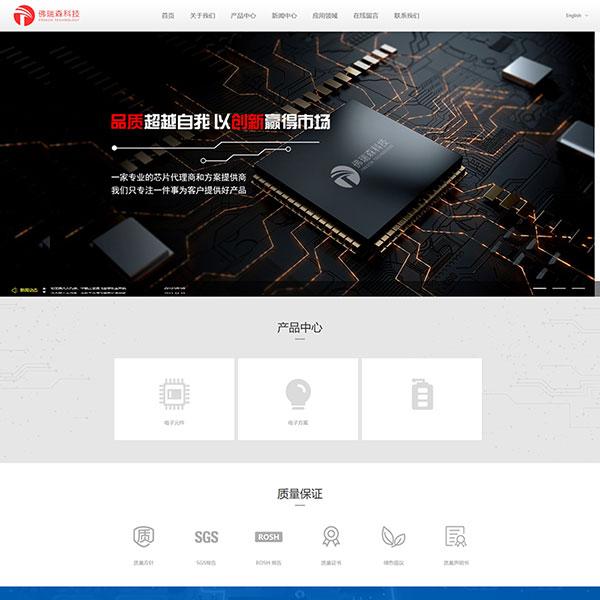 深圳市佛瑞森科技公司网站建设