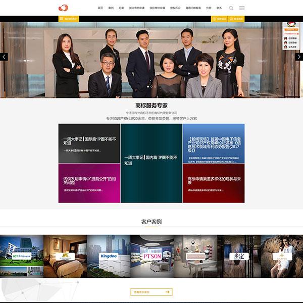 深圳大愚知识产权代理有限公司网站建设